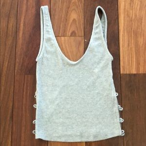 NWT Urban Outfitters grey tank. Size small